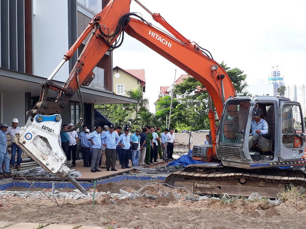 Bồi thường công trình hạ tầng kỹ thuật tại TP Hồ Chí Minh khi Nhà nước thu hồi đất