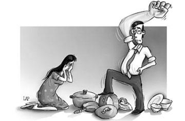 Hành vi đánh vợ của chồng có thể bị xử lý như thế nào?