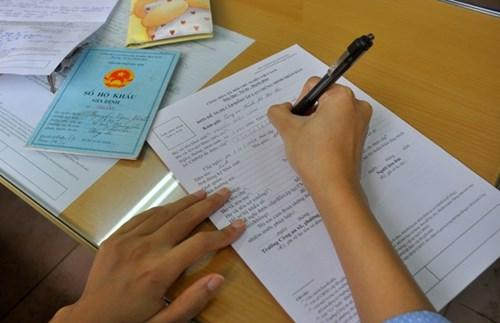 Cách ghi giấy chuyển hộ khẩu