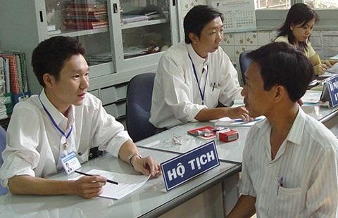 Lệ phí đăng ký hộ tịch trên địa bàn tỉnh Quảng Ngãi