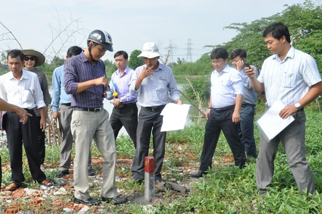 Hồ sơ xác định và bàn giao mốc giới làm cơ sở xây dựng kế hoạch thu hồi đất