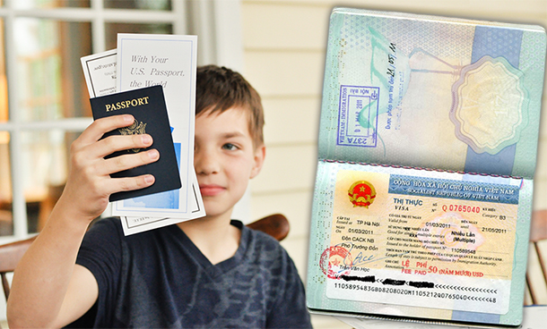 Thủ tục bảo lãnh cho con của người nước ngoài sống tại Việt Nam