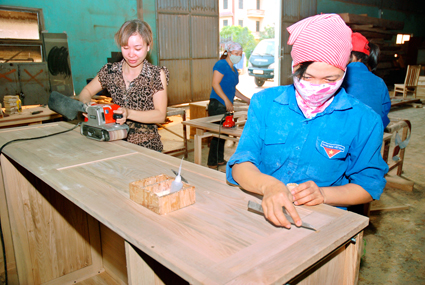 Hỗ trợ đào tạo chuyển đổi nghề tại Bạc Liêu