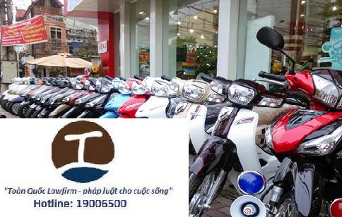 Lệ phí trước bạ khi mua xe máy theo quy định của pháp luật