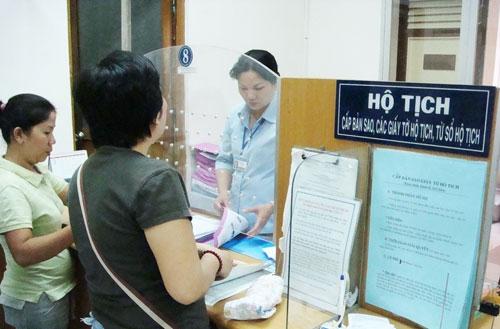 Lệ phí đăng ký hộ tịch trên địa bàn thành phố Đà Nẵng