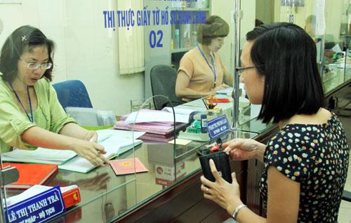 Lệ phí đăng ký hộ tịch trên địa bàn tỉnh Hậu Giang