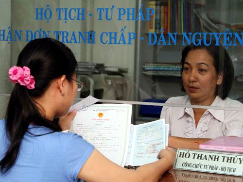 Lệ phí đăng ký hộ tịch trên địa bàn tỉnh Thanh Hóa