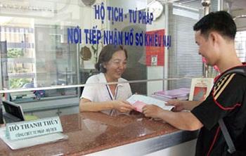 Lệ phí đăng ký hộ tịch trên địa bàn tỉnh Thừa Thiên Huế