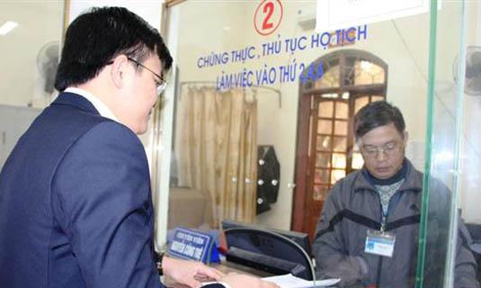 Lệ phí đăng ký hộ tịch trên địa bàn tỉnh Tuyên Quang