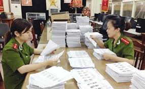 Nguyên tắc sắp xếp tài liệu vào tàng thư căn cước công dân