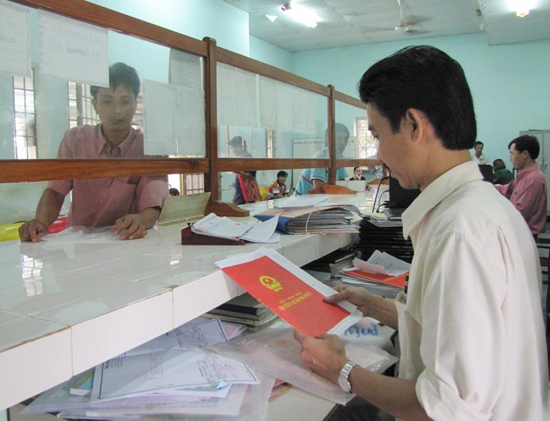 Thủ tục đăng ký thế chấp quyền sử dụng đất
