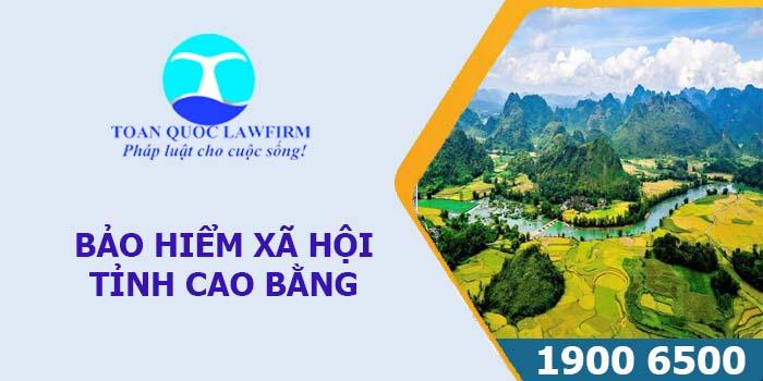 Thông tin địa chỉ, số điện thoại bảo hiểm xã hội tỉnh Cao Bằng