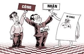 Thủ tục khai nhận di sản thừa kế theo di chúc của người Việt Nam định cư ở nước ngoài