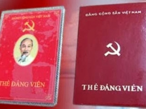 Thủ tục xin cấp lại thẻ đảng viên bị mất