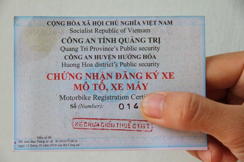 Dưới 18 tuổi có được đứng tên trên giấy đăng ký xe máy không theo quy định của pháp luật