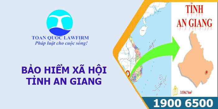 Thông tin địa chỉ, sổ điện thoại Bảo hiểm xã hội tỉnh An Giang