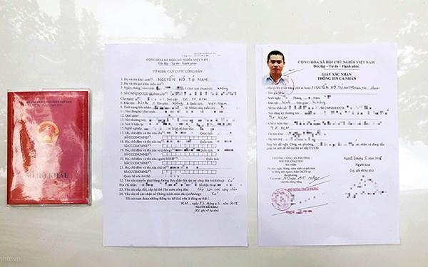Trình tự thủ tục cấp thẻ căn cước công dân cho quân nhân công an