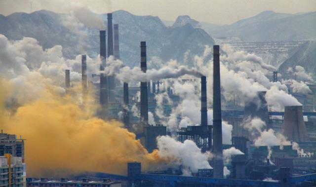 vi phạm quy định về thải bụi và khí thải có chứa các thông số nguy hại