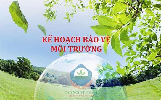 vi phạm quy định về thực hiện kế hoạch bảo vệ môi trường