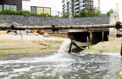 vi phạm quy định về xả nước thải