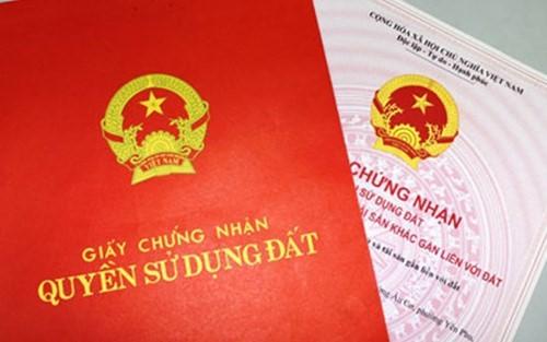 Lệ phí cấp giấy chứng nhận quyền sử dụng đất tại Hà Nội