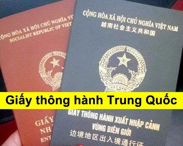 Thủ tục cấp giấy thông hành xuất nhập cảnh Việt Nam - Trung Quốc