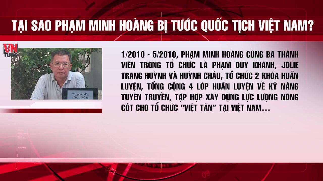 Căn cứ tước quốc tịch Việt Nam