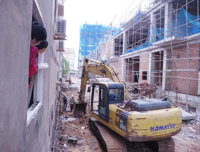 Tranh chấp bồi thường thiệt hại do xây dựng gây sụt lún