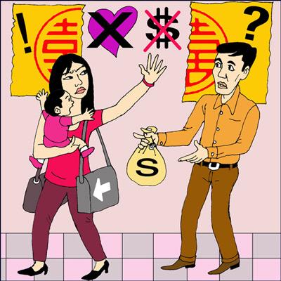 Những vấn đề cần giải quyết khi ly hôn