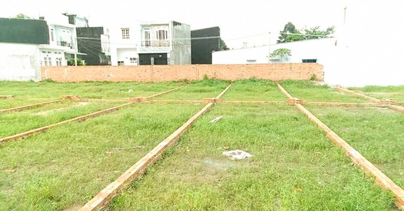 Diện tích tách thửa đất ở tại Tây Ninh