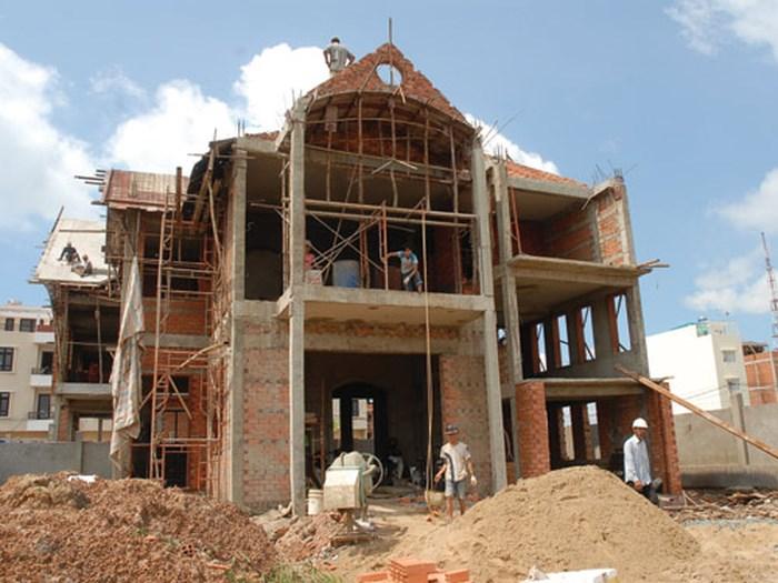 diện tích tối đa được xây dựng nhà ở