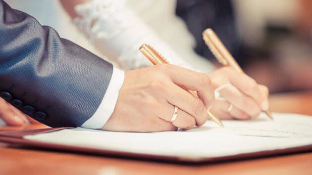 Giá trị của giấy đăng ký kết hôn khi kết hôn không đúng thủ tục