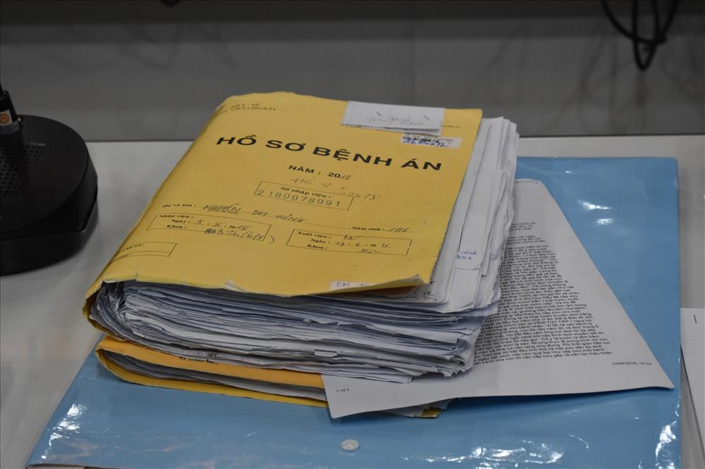 Xin lại hồ sơ bệnh án ở bệnh viện