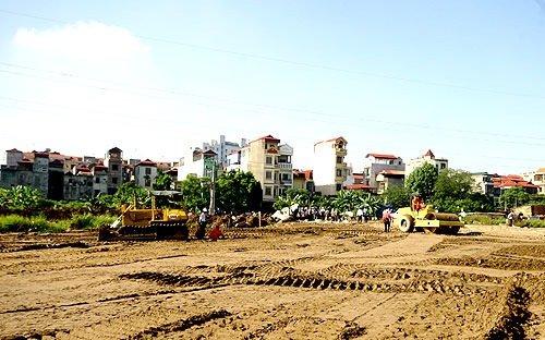 thu hồi một phần đất có được bồi thường đất tái định cư