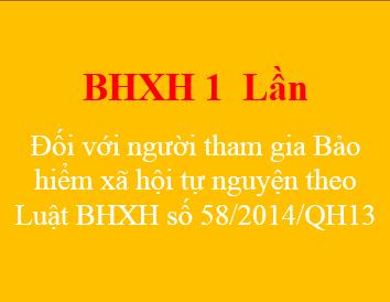 Quy định về đóng BHXH tự nguyện một lần để hưởng lương hưu