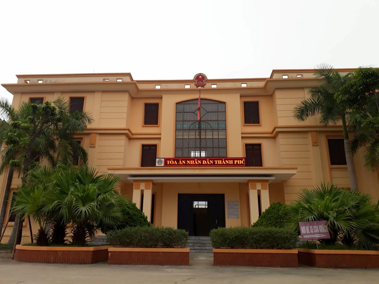 Tòa án nhân dân thành phố Vĩnh Yên