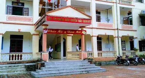 Địa chỉ Tòa án nhân dân huyện Bắc Quang