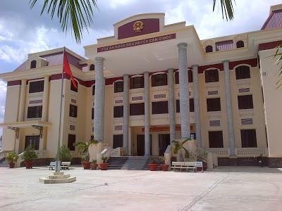 Địa chỉ Tòa án nhân dân huyện Cần Giuộc