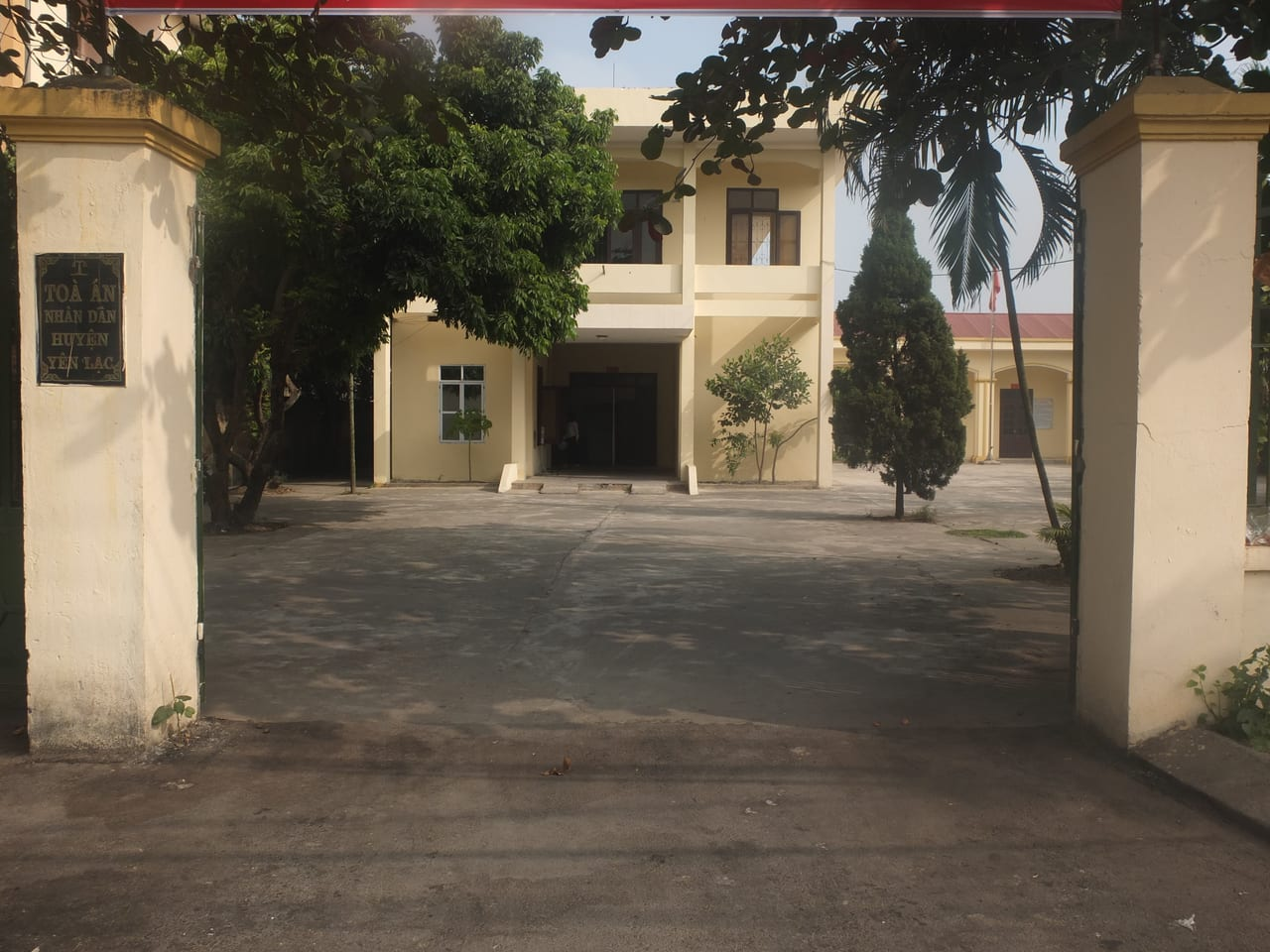 Địa chỉ tòa án nhân dân huyện Yên Lạc