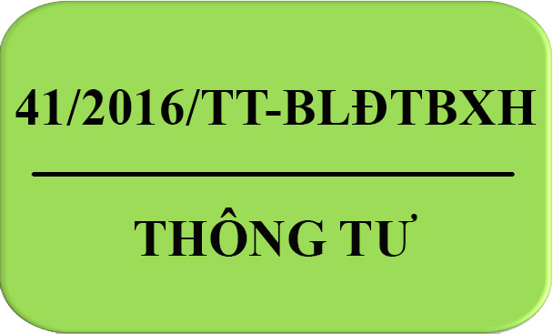Tải thông tư41/2016/TT-BLĐTBXH về giá dịch vụ kiểm định kỹ thuật