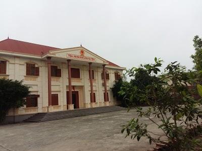 Địa chỉ Tòa án nhân dân huyện Ân Thi