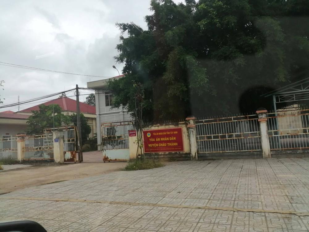 Địa chỉ Tòa án Nhân dân Châu Thành A
