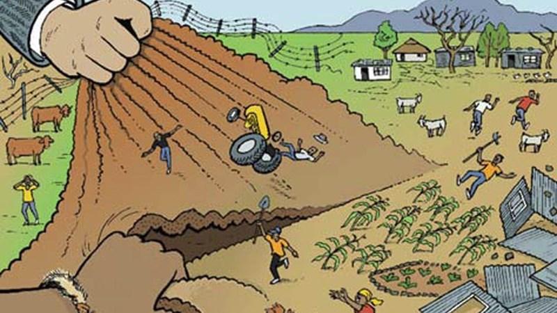 Hành vi lấn chiếm đất đai