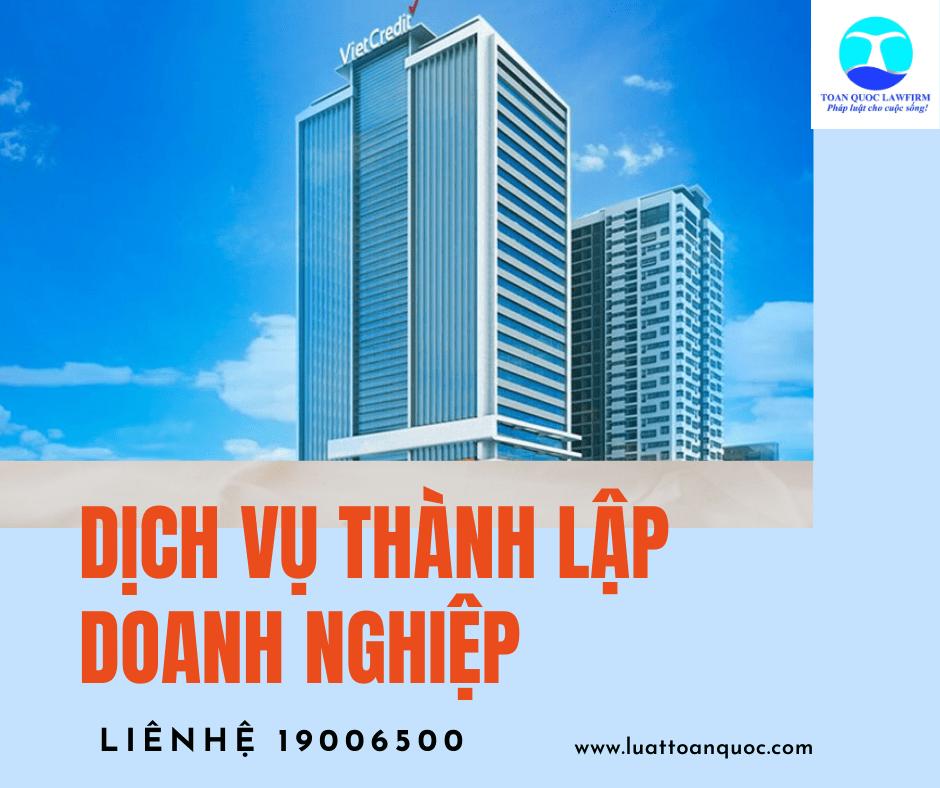 Dịch vụ thành lập công ty tại Hà Nội trọn gói