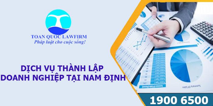 Dịch vụ thành lập công ty tại Nam Định mới nhất