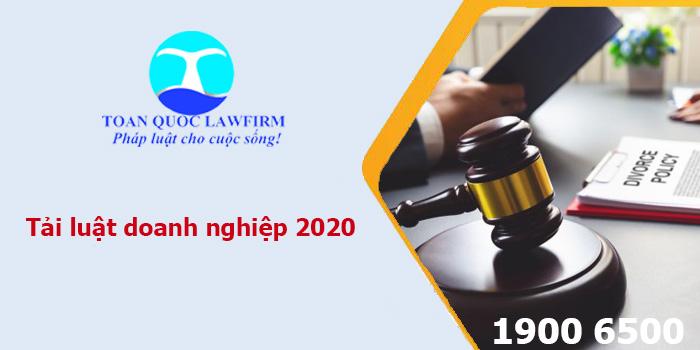 Luật doanh nghiệp mới nhất 2020