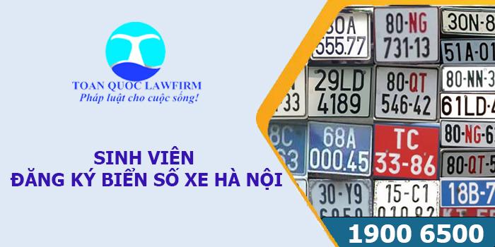 Quy định sinh viên ngoại tỉnh đăng ký biển số xe Hà Nội chính thức bị bãi bỏ