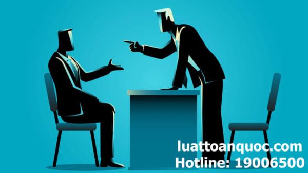 Soạn thảo đơn khiếu nại khi doanh nghiệp chấm dứt hợp đồng lao động trái luật sao cho đúng
