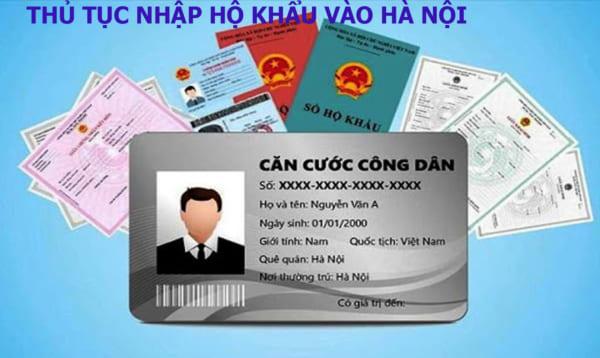 Hướng dẫn thủ tục nhập hộ khẩu vào Hà Nội